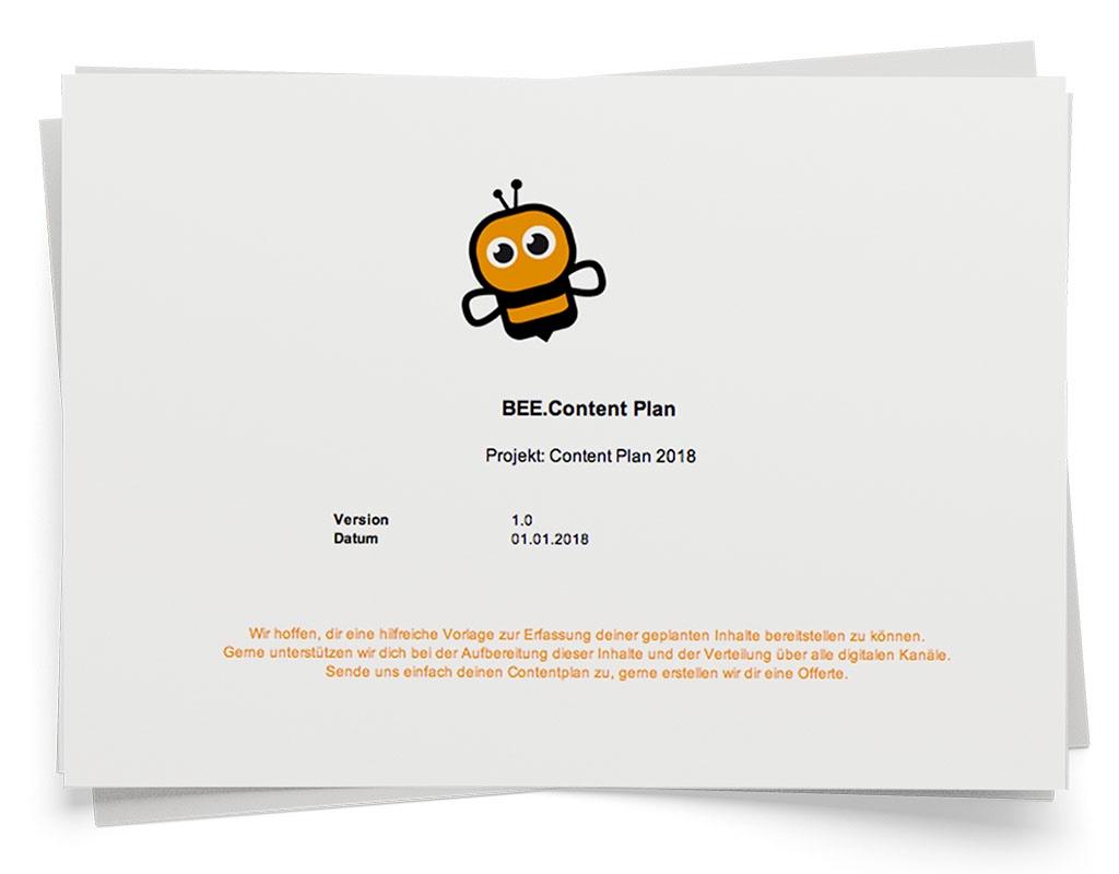 bee-contentplan