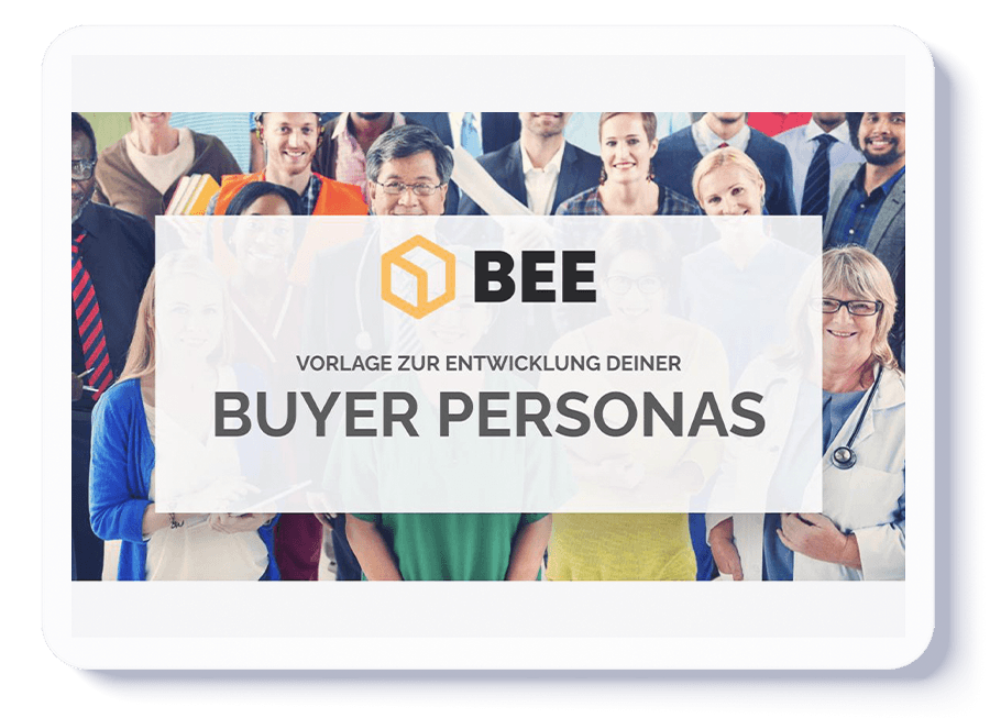 BEE Buyer Persona Guidelines & Template